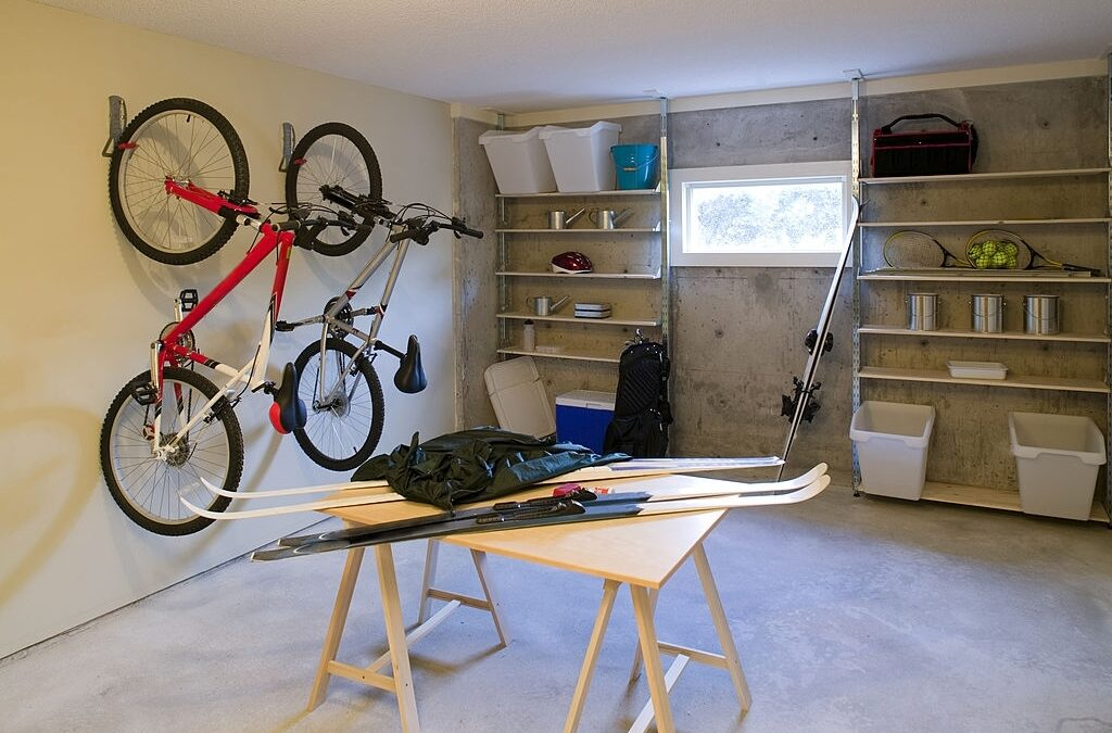 interior garage storage shelves